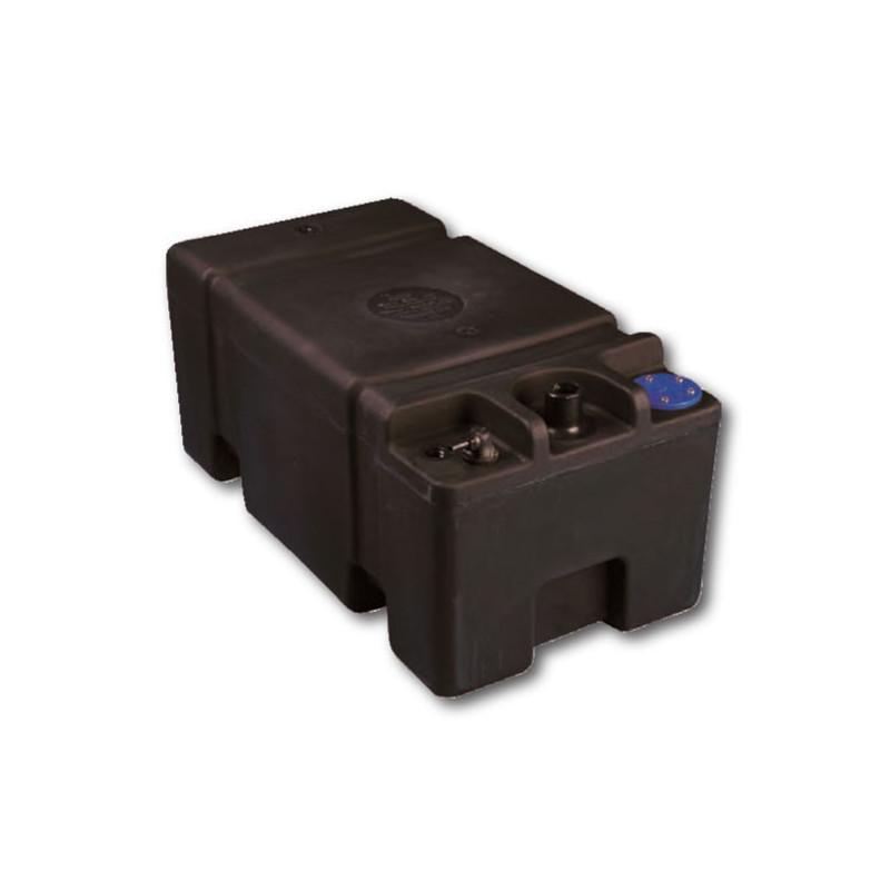 Estanque 41 lts negro 50195 tecnomar for Accesorios para estanques