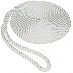 CUERDA AMARRE 5/8 X 30FT WHITE (50013019)