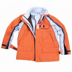 CHAQUETA XTS(XL)(40836) POL/COST/ALTAMAR ORANGE