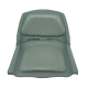 ASIENTO PVC C/TAPIZ GRIS (C12507-G)
