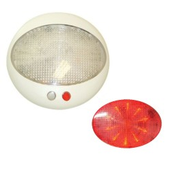 LUZ INT. LED BLANCA/ROJA(16600-7)