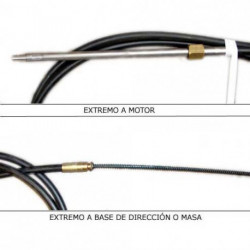CABLE DIRECCION M66 18 PS.