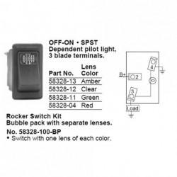 INTERRUPTOR 2P. C/LED VERDE (58328-11-BX)