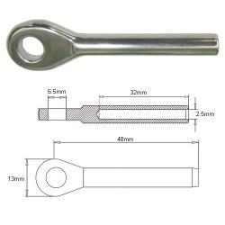 TERMINAL OJO 2.5mm.(037101)