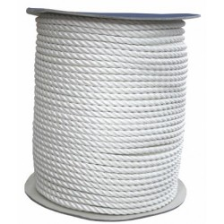 CUERDA POLYESTER(90848) 16MM BLANCO