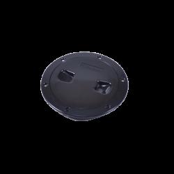 TAPA REGISTRO 6``NEGRA (C13025B6)