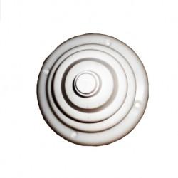 PASACABLES BLANCO 10X7cm.(80030)